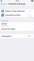 Apple iPhone 6s - iOS 12 - E-Mail - Konto einrichten (outlook) - Schritt 10