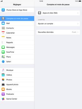 Apple iPad mini 2 iOS 11 - E-mail - configuration manuelle - Étape 4