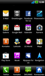 LG Optimus Black - MMS - Manuelle Konfiguration - 3 / 17
