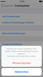 Apple iPhone 5c iOS 9 - Gerät - Zurücksetzen auf die Werkseinstellungen - Schritt 8