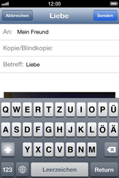 Apple iPhone 4 S - E-Mail - E-Mail versenden - 10 / 13