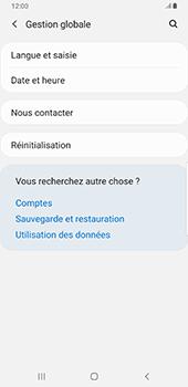 Samsung Galaxy S9 Plus - Android Pie - Téléphone mobile - Réinitialisation de la configuration d