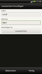 HTC One S - Internet und Datenroaming - Verwenden des Internets - Schritt 10