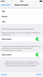 Apple iPhone 6 iOS 8 - Apps - Einrichten des App Stores - Schritt 18