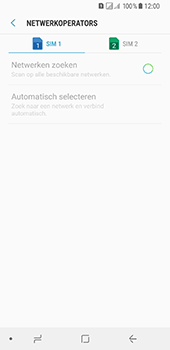 Samsung Galaxy A8 (2018) - netwerk en bereik - gebruik in binnen- en buitenland - stap 9