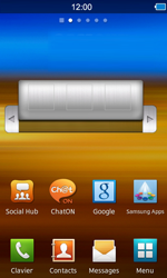 Samsung S8600 Wave 3 - Internet - navigation sur Internet - Étape 1
