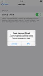 Apple iPhone 6 Plus iOS 8 - Applicazioni - configurazione del servizio Apple iCloud - Fase 12