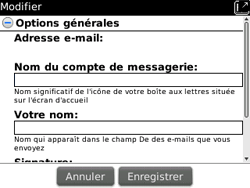 BlackBerry 9700 Bold - E-mail - Configuration manuelle - Étape 14