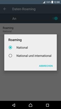 Sony Xperia XA Ultra - Ausland - Im Ausland surfen – Datenroaming - 10 / 14