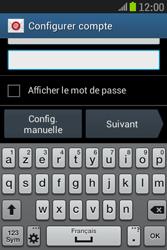 Samsung S6310 Galaxy Young - E-mail - Configuration manuelle - Étape 6