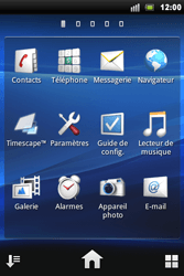 Sony Xperia Mini Pro - Internet - Navigation sur Internet - Étape 2