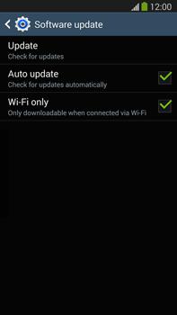 Samsung Galaxy Note III LTE - Software - Installing software updates - Step 8