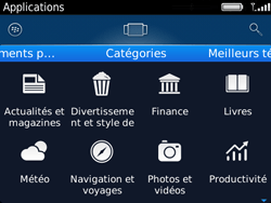 BlackBerry 9720 - Applications - Télécharger une application - Étape 13
