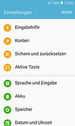 Samsung Galaxy Xcover 3 VE - Fehlerbehebung - Handy zurücksetzen - 6 / 12