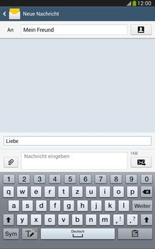 Samsung Galaxy Tab 3 8-0 LTE - MMS - Erstellen und senden - 14 / 24