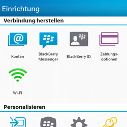 BlackBerry Q10 - E-Mail - Manuelle Konfiguration - Schritt 4