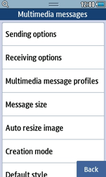 Samsung S5250 Wave 525 - MMS - Manual configuration - Step 15
