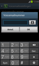 Samsung Galaxy S III Mini - voicemail - handmatig instellen - stap 6