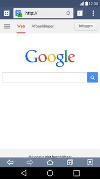 LG G4 - internet - hoe te internetten - stap 5