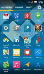 Alcatel One Touch Pop C3 - Dispositivo - Ripristino delle impostazioni originali - Fase 4