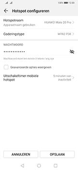 Huawei Mate 20 Pro - Internet - mijn data verbinding delen - Stap 8