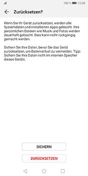 Huawei Mate 10 Pro - Android Pie - Fehlerbehebung - Handy zurücksetzen - Schritt 9