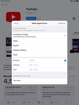 Apple ipad-air-2-ios-12 - Applicaties - Account aanmaken - Stap 18