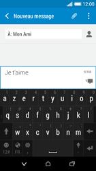 HTC Desire 510 - Contact, Appels, SMS/MMS - Envoyer un SMS - Étape 10
