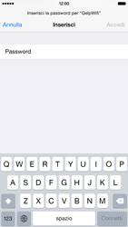 Apple iPhone 6 iOS 8 - WiFi - Configurazione WiFi - Fase 6