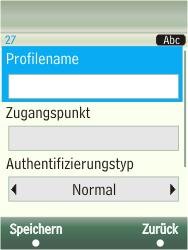 Samsung TouchWiz - Internet - Manuelle Konfiguration - 8 / 13