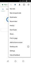 Huawei Y5 (2018) - Internet - Internet browsing - Step 11