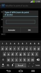 LG D955 G Flex - Internet et roaming de données - Configuration manuelle - Étape 14