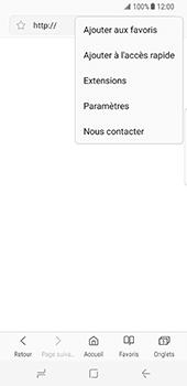 Samsung Galaxy S8 - Internet et roaming de données - Configuration manuelle - Étape 24