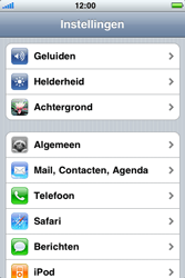 Apple iPhone 3G - bluetooth - aanzetten - stap 3