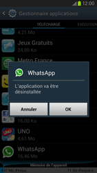 Samsung Galaxy S III LTE - Applications - Comment désinstaller une application - Étape 7