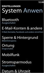 Nokia Lumia 800 - Ausland - Auslandskosten vermeiden - 6 / 8
