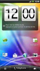 HTC Z710e Sensation - MMS - envoi d'images - Étape 1