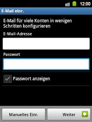 Samsung S5360 Galaxy Y - E-Mail - Konto einrichten - Schritt 5