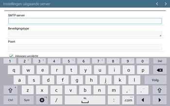 Samsung T535 Galaxy Tab 4 10-1 - E-mail - Account instellen (POP3 zonder SMTP-verificatie) - Stap 12