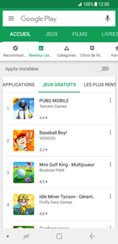 Samsung Galaxy S8 - Android Oreo - Applications - Télécharger des applications - Étape 7