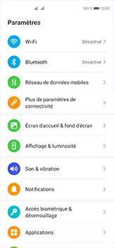 Huawei P40 - Internet et connexion - Désactiver la connexion Internet - Étape 3