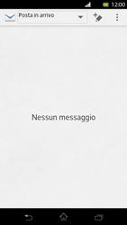 Sony Xperia T - E-mail - Configurazione manuale - Fase 4