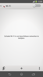 Sony D5503 Xperia Z1 Compact - WiFi - Handmatig instellen - Stap 6