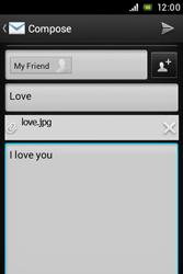 Sony C1505 Xperia E - E-mail - Sending emails - Step 14