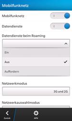 BlackBerry Z10 - Ausland - Im Ausland surfen – Datenroaming - 9 / 12
