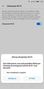 Huawei Mate 10 Pro - WiFi - Attivare WiFi Calling - Fase 8