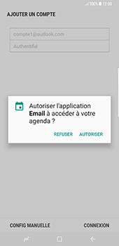 Samsung Galaxy S8+ - E-mails - Ajouter ou modifier votre compte Outlook - Étape 12