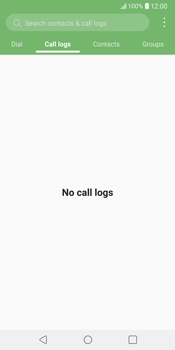 LG V30 - Voicemail - Manual configuration - Step 3