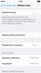Apple iPhone 5 iOS 7 - MMS - Manuelle Konfiguration - Schritt 5