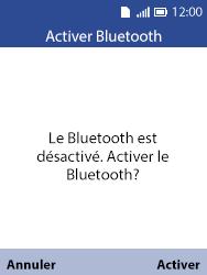 Alcatel 3088X - Photos, vidéos, musique - Envoyer une photo via Bluetooth - Étape 10